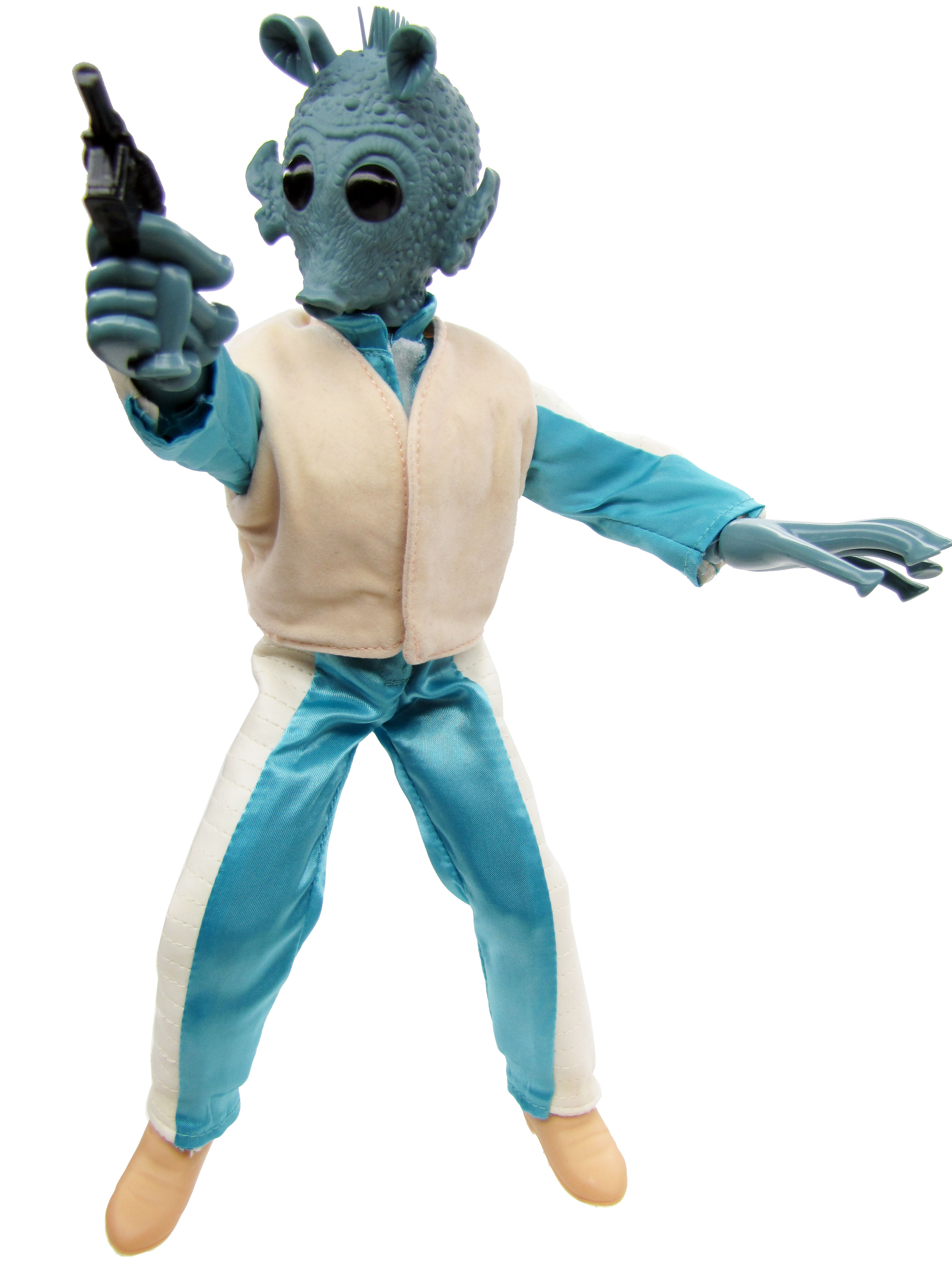 "1997 Star Wars POTF2 12"" GREEDO Complete"